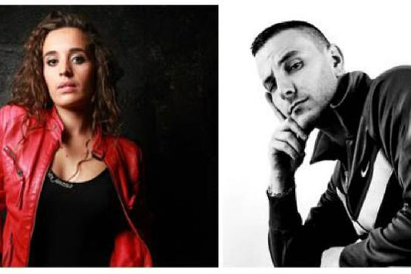 Jeanette Berger et Skrib, deux chanteurs bourguignons, se produisent au festival des Francos Gourmandes qui a lieu vendredi 12 et samedi 13 juin 2015, à Tournus, en Saône-et-Loire.