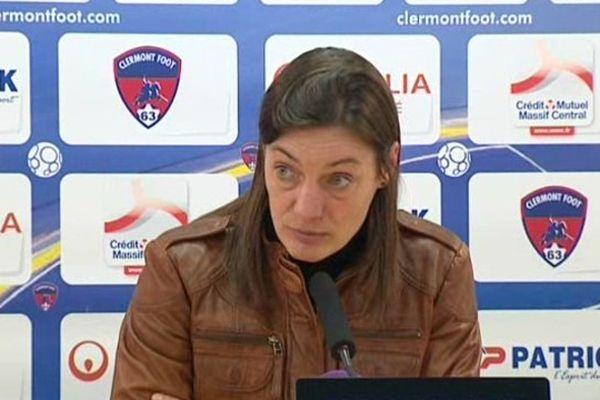 Aprés le match nul contre Niort, Corinne Diacre entraîneure du Clermont-Foot a confié qu'il était difficile de faire oublier l'absence sur le terrain d'Idriss Saadi. Le meilleur buteur de l'équipe est blessé jusqu'à la fin de saison.