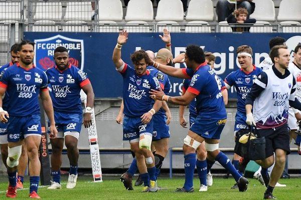 Le FCG lors de sa rencontre avec Lyon, le 25 mai 2019.