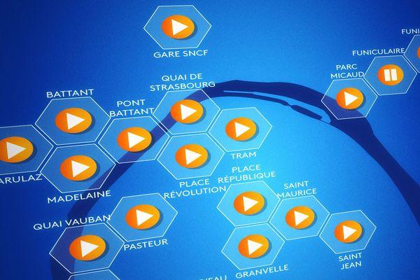 Aperçu de notre carte sonore interactive