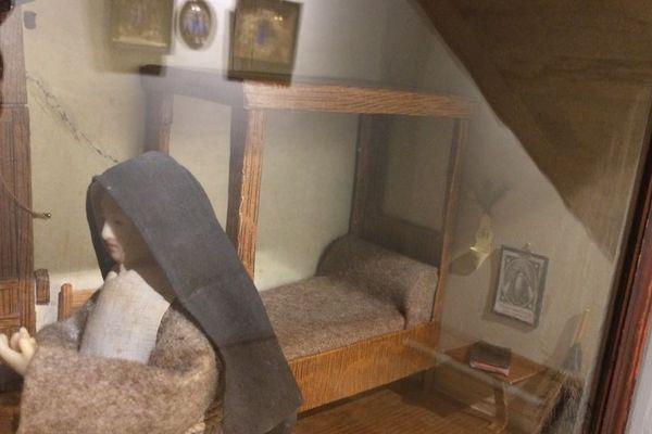 Des cellules de nonnes fabriquées au XVIIe/XVIIIe siècle