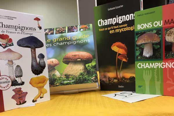 Il existerait plus de 25000 livres consacrés aux différentes espèces de champignons.