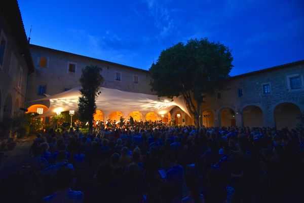 La scène Matisse où se dérouleront les concerts du Nice Classic Live 2021.