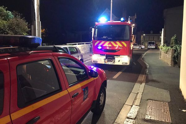 L'accident s'est produit sur les rails situés près du Pont Saint-Vincent