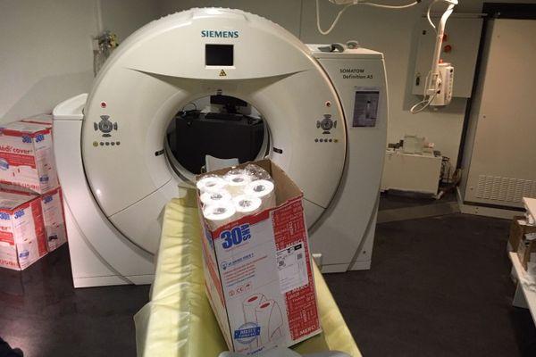 Les inondations ont touché l'IRM du service de radiologie scanner de la clinique Pasteur de Bergerac