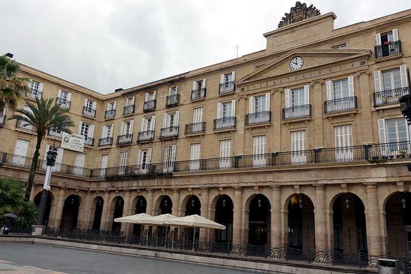 Le siège de l'Académie basque à Bilbao, Plaza berri.