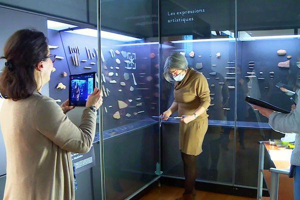 La visite virtuelle permet de découvrir aussi les professionnel pendant leur travail
