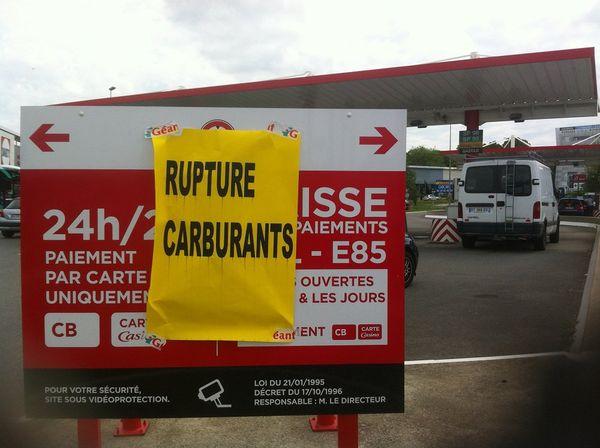 Rupture de carburant dans cette station-service de Saint-Grégoire (35)