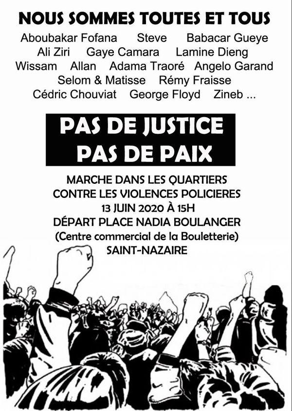 Appel à manifester pour le samedi 13 juin à Saint-Nazaire