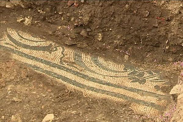 Des mosaïques polychromes exceptionnelles selon les archéologues