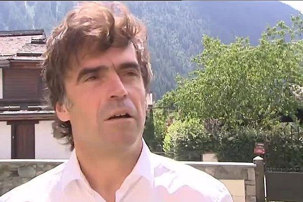 Eric Fournier, maire de Chamonix