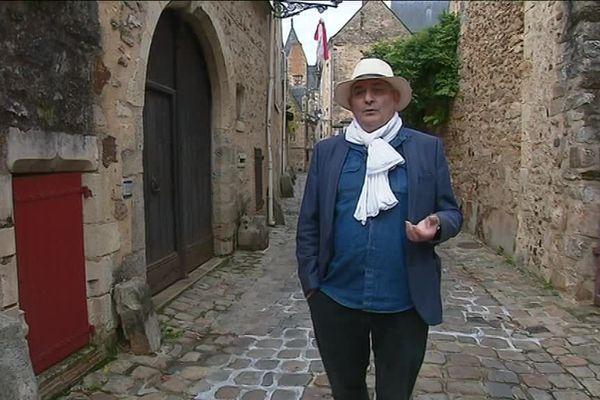 Le Mans : Bertrand Coudreau et les étonnants visiteurs de la Sarthe