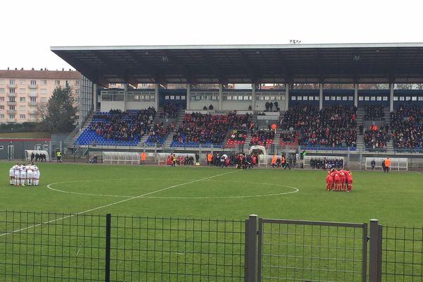 3800 personnes sont venues soutenir les filles du BRC contre l'OL.