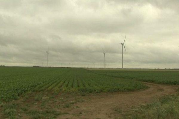Éoliennes dans l'Aisne (France 3 Picardie)