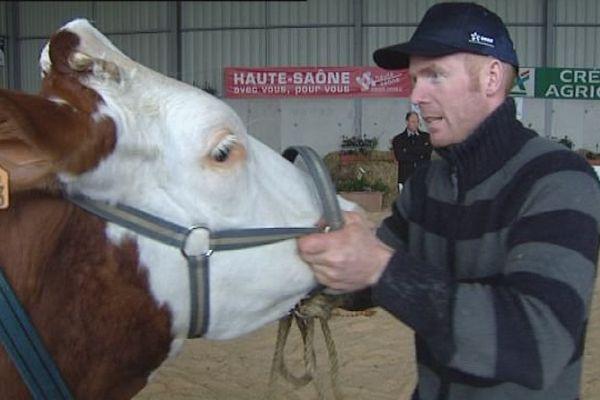 Villersexel : une centaine de bêtes présentées à la foire de l'élevage