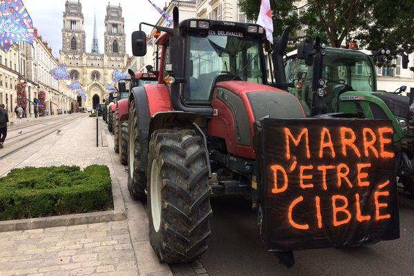 26/09/2019 Manif des agriculteurs en centre-ville d'Orléans