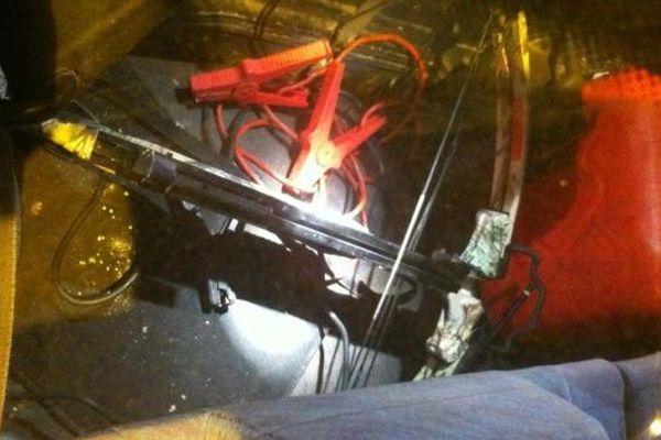 L'auteur du tir, un Alésien de 25 ans, était en possession d'une arbalète de chasse