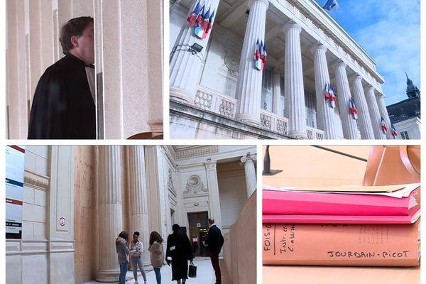 Palais de justice de Tours - Indre-et-Loire - janv 2019