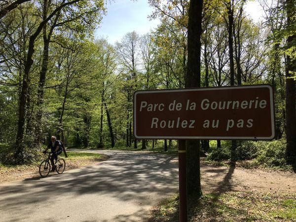 le parc de la Gournerie à Saint-Herblain