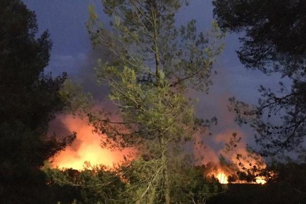 Un incendie s'est déclaré à Saint-Clément-de-Rivière, dans l'Hérault, dans la soirée du dimanche 1er septembre