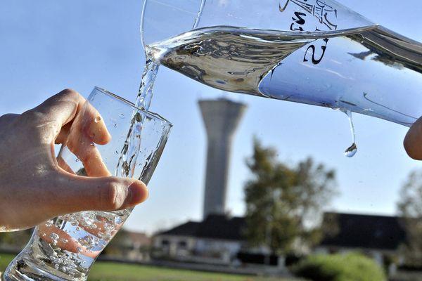 Illustration sur la gestion de l'eau