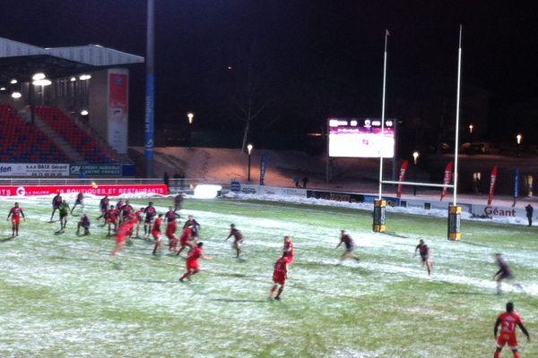 Le 1er décembre, sous un froid glacial, le Stade Aurillacois n'a pas faibli et empoche une victoire face à Grenoble, pourtant leader de Pro D2.