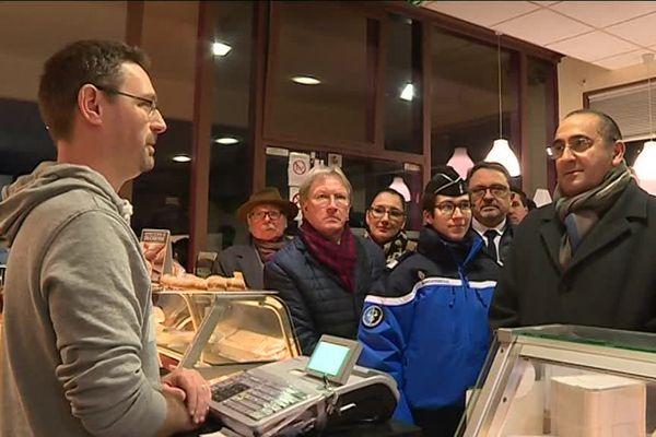Le secrétaire d'état Laurent Nunez en visite à Quetigny pour la police de sécurité du quotidien