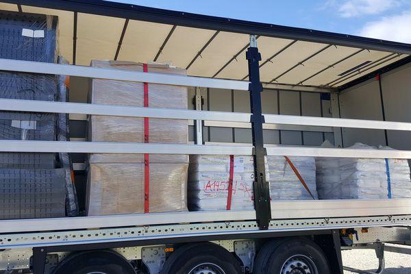 427 kg d'herbe de cannabis ont été saisi par les services des douanes du Perthus, dans les Pyrénées-Orientales.
