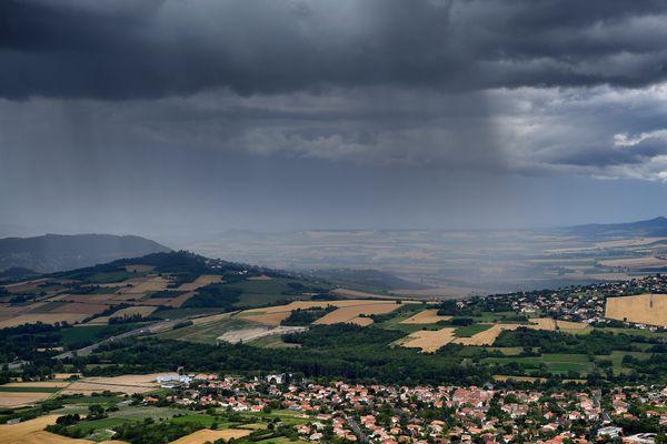 En Bourgogne, les précipitations ont été deux fois plus importantes que les normales de saison.
