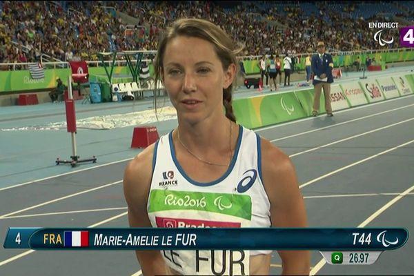 Marie-Amélie Le Fur, triple médaillée aux Jeux paralympiques de Rio, sera présente à Orléans pour soutenir la candidature de Paris