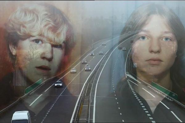 Le corps mutilé de Christel Oudin (à droite) avait été retrouvé en avril 1986 à Anguilcourt-le-Sart(Aisne) lors du chantier de l'A26. Son meurtre a été relié à une autre collégienne de Saint-Quentin, Sophie Borca (à gauche), disparue un an plus tôt.