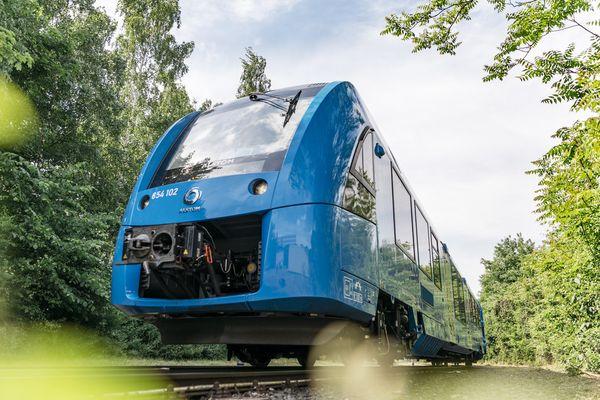 Le train à hydrogène Alstom, qui circule en Allemagne depuis 2018.