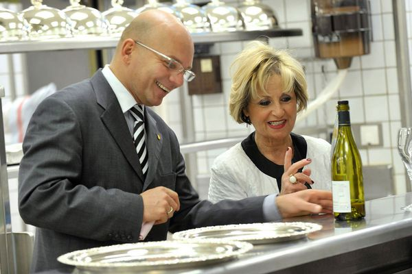 Geneviève Orsi ,la maîtresse de maison de la maison Orsi, a été distinguée pour son travail autour des arts de la table