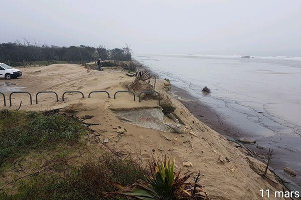 La plage du VVF de Soulac