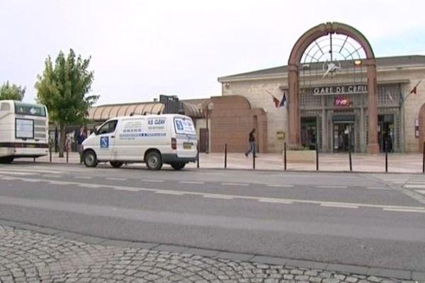 La gare de Creil dans l'Oise.