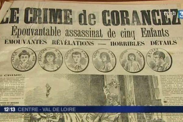 Le meurtre de la fratrie des cinq enfants de Corancez trouva un écho jusque dans la presse internationale de l'époque.