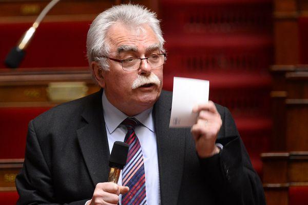 Le député de la 5ème circonscription du Puy-de-Dôme André Chassaigne