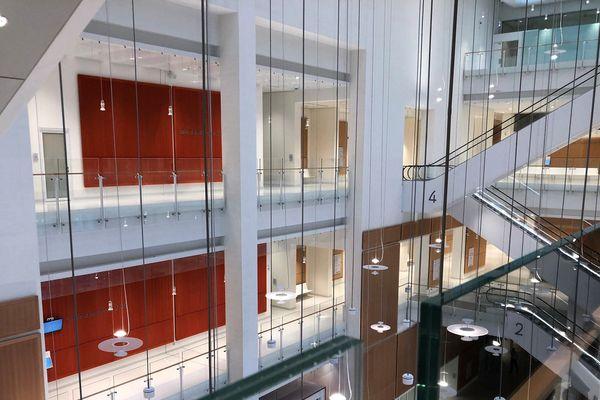 Le nouveau palais de justice a été conçu par l'architecte italien Renzo Piano.