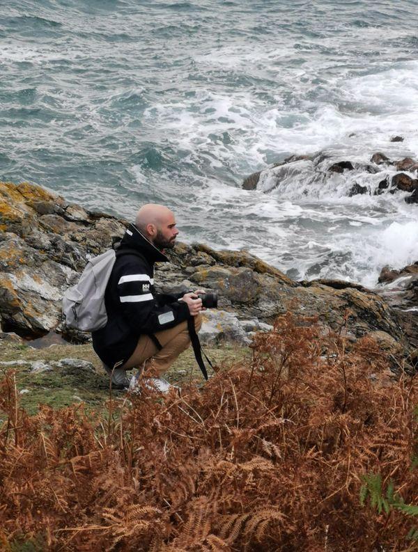 Pendant 6 mois, il a cherché à rester fidèle à cette pointe du Cotentin qu'il aime tant. Un véritable défi.