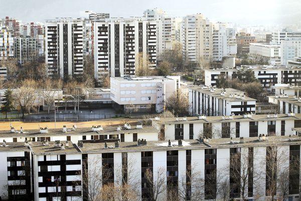 Le quartier du Village olympique à Grenoble, photo d'illustration.
