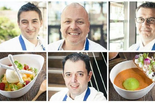 Jean-Michel Carrette, Yohann Chapuis, Sylvain Gohier et Valéry Meulien exercent leurs talents à Tournus, en Bourgogne du Sud