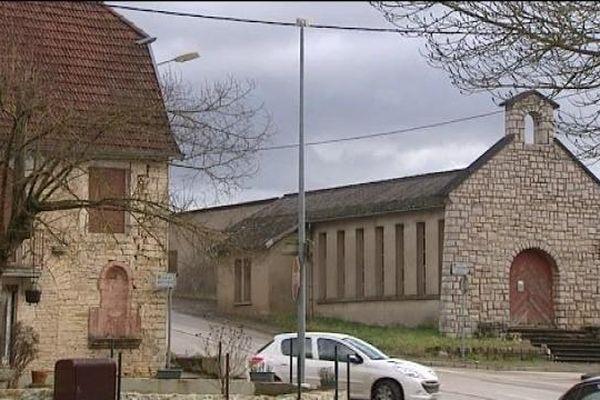 La chapelle a été construite en 1958
