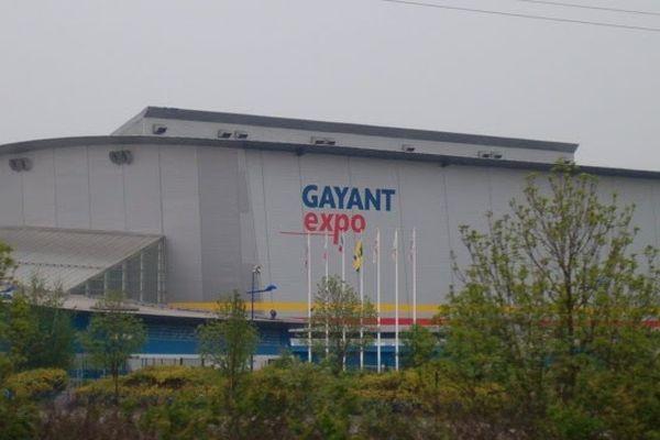 L'épreuve avait lieu dans la salle Gayant Expo à Douai.