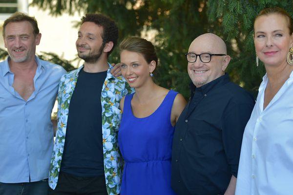 """Michel Blanc présente son dernier film 'Voyez comme on danse"""" au Festival du Film Francophone d'Angoulême."""