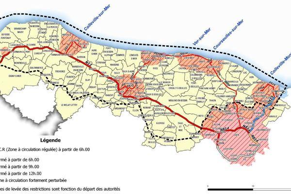 La Zone à circulation régulée s'étend sur 121 communes. Pour y entrer et en sortir, un sticker sera obligatoire le 6 juin.