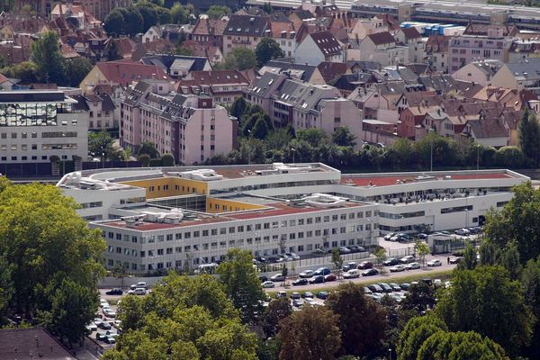 Le commissariat de Strasbourg.