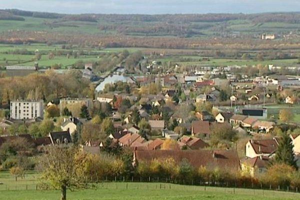 La commune de Pouilly-en-Auxois, en Côte-d'Or