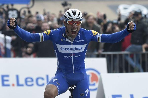 Philippe Gilbert, vainqueur du Paris-Roubaix 2019, ne participera pas au Tour de France.