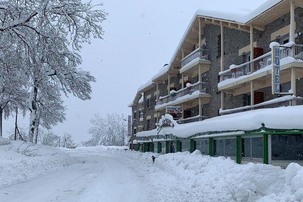 Mont-Louis, ce mercredi 22 janvier au matin.