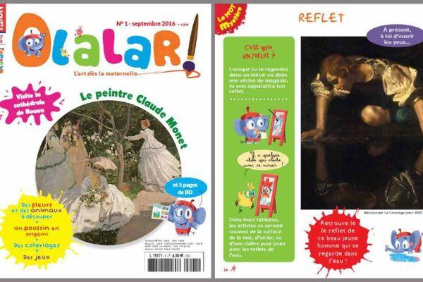 Le magazine Olalar des éditions Faton à Dijon
